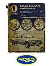 OWM984 - Haynes Manual Ford New Escort, 1980-81