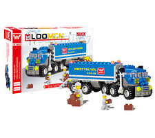 NEW HOT Container Truck with Man Building Toys  Bricks Engineering Series Set