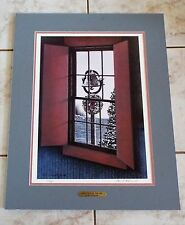 Ben Richmond Christmas by the Sea signed & numbered 372/400 print 1986 22 by 16""