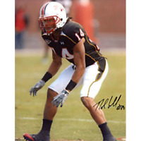 Nolan Carroll Autographed / Signed Maryland Terrapins 8x10 Photo