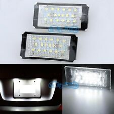 LED License Number Plate Light Lamp FOR BMW E46 Coupe Cabrio M Sport 2 Door M3 A