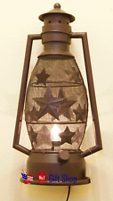 Electric Metal Star Lantern Night Light