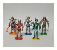 Cavalieri Zodiaco Bronzo Set 5 Personaggi 3D Preziosi