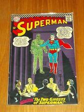 SUPERMAN #186 FN- (5.5) DC COMICS MAY 1966