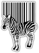 """Bar Code Bar-code Barcode Zebra Car Bumper Vinyl Sticker Decal 4""""X5"""""""