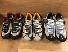 (3x) New Pearl Izumi Cycling Shoes Attack Rd, Attack Mtb, Quest Rd Sz 7