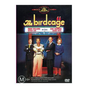 The Birdcage DVD Brand New Region 4 - Robin Williams, Gene Hackman - Free Post