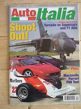 Auto Italia magazine Dec 98 Lamborghini Diablo Ferrari 348 F50 Alfa Giulietta