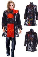 Damenjacken & -mäntel in Übergröße aus Polyester mit Patchwork-Muster
