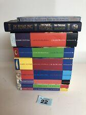 Harry Potter Books Complete 1-7 Set Collection - Mixed Paperback Hardback Set