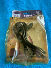 BELKIN 6' STEREO SOUND CARD CABLE 3.5mm MALE TO 3.5mm MALE AUDIO/VIDEO