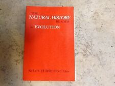 the natural history reader in evolution by Niles Eldredge 1987 paperback