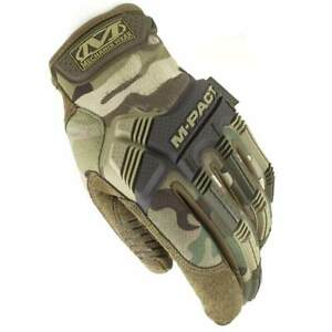 Mechanix M-Pact Military Tactical Army Shooting Airsoft Gloves Multicam MTP Camo