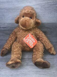 "Gund Yikes Monkey 2620 Plush Stuffed Animal Tan Brown 11"" NWT Toy"