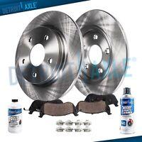 REAR Rotors+ Ceramic Brakes Pads Ford Fusion Lincoln MKZ Milan Rotor & Pad Brake