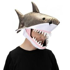 Great White Shark Jawsome Halloween Costume Hat Accessory Adult or Child/Kids