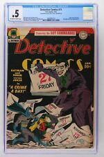 Detective Comics #71 - DC 1943 CGC 0.5 -Incomplete- A Joker cover & story