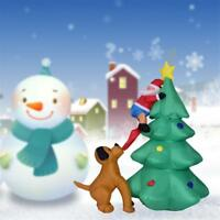 1.8M Inflatable Christmas tree With Led Light Xmas Party Garden Decor Ornaments