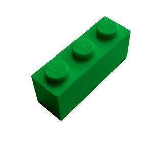 Lego 50 Stück Stein 1x3 grün (3622) grüne Basicsteine Stein Basic City Neu