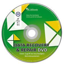 Daten Recovery Data DVD✔ Windows 10 8 / 7 / Vista / XP (32&64Bit)✔ Daten Rettung
