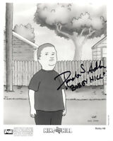 PAMELA ADLON SIGNED 8x10 PHOTO VOICE OF BOBBY HILL KING OF THE HILL BECKETT BAS