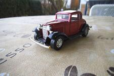 Sammlerstück Yat Ming 8501 1932 Ford Coupe Dunkelrot Metallic TOP
