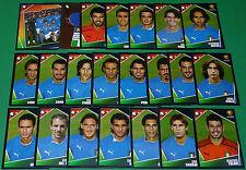 PANINI FOOTBALL UEFA EURO 2004 PORTUGAL EQUIPE COMPLETE ITALIE ITALIA SQUADRA