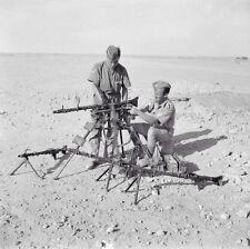WWII Photo German MG34 North Africa  WW2 World War Two Germany Wehrmacht / 2107