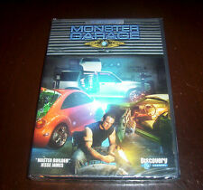 MONSTER GARAGE Master Builder Jesse James Cars Car Discovery Channel DVD SET NEW