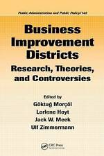 Business Improvement Districts: Research, Theories, and Controversies (Public Ad