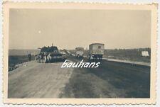 Foto Russland-Feldzug Panzer/Tank-Rollbahn  2.WK (Q751)