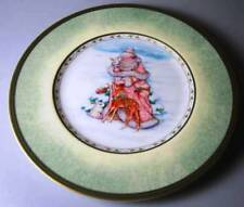 Fitz & Floyd Winter Holiday LOT OF 2 SANTA Salad Plates NEW