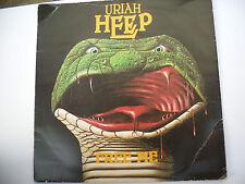 "Uriah Heep Free Me 7"" vinyl Single Picture cover BRO 47 GB 1977 Bronze records"