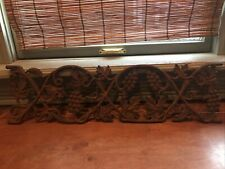 Vtg Cast Iron Railing Architectura