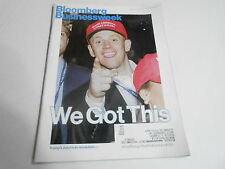 NOV 14 2016 BLOOMBERG BUSINESS WEEK  magazine attacked by DONALD TRUMP  VOTERS