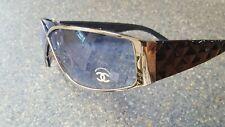 Chanel Special Edition Designer Shield Fashion Sunglasses Made in Italy Case