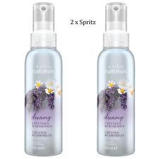 2 x Avon Naturals Lavender & Chamomile Scented Spritz // Room Mist Spray 100ml