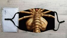 Facehugger face mask (Alien, Aliens, Sigourney Weaver, Halloween)