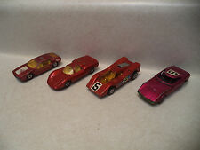 Matchbox Lot of 4 1969-1971 Lesney Products England