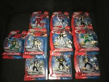 Power Rangers Super MegaForce Six Rangers Lot Green White Robo Gold Titanium Sam