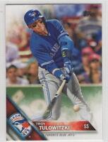 2016 Topps Mini Baseball Blue Jays Team Set (24 cards)
