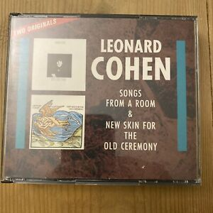 New Skin For The Old Ceremony + Songs From A Room by Leonard Cohen CD