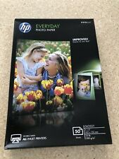 HP everyday photo paper 50 sheets 4x6 Glossy