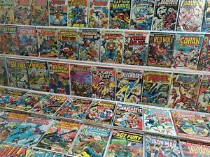 250+ All Marvel Bronze Lot Black Panther 1 Defenders 28 Avengers Annual 6