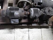 Baldor AC Motor w/ Clutch Brake & Gear IDNM3581T 1HP 1725RPM 230/460V Used