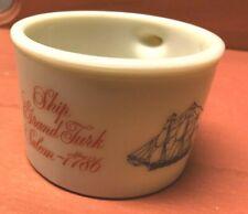 Vintage Old Spice Shaving Mug - Ship Grand Turk Salem 1786 Shulton  1960's-70's