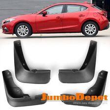 Mud Flaps Splash Guards Fender Front + Rear For Mazda 3 AXELA Hatchback 14 15 16