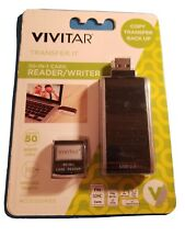 Vivitar 50-IN-1 Card Reader/Writer. Rapid Data Transfer Supports 50 Memory Cards