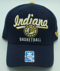 NBA Indiana Pacers Adidas Adult Flex Fit Cap Hat Beanie Style #M293Z NEW!