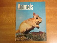 September 17th 1963, ANIMALS, Spring Hare, Bateleur Eagle, Fox, Pere Davids Deer